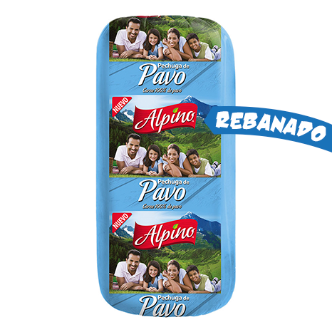 JAMON DE PECHUGA DE PAVO ALPINO KG REBANADO