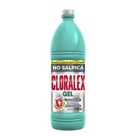 CLORO EN GEL CLORALEX RENDIDOR 950 ML